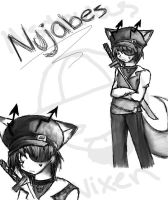 Nujabes Character 2 by Simple-PhobiaXD