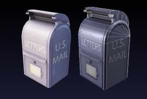 Mailbox prop by Magmabolt