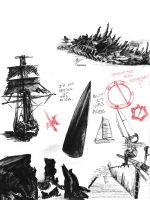 museum sketching part2 by Emergensy