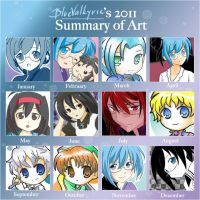 2011 art summary meme by BlueValkyrie