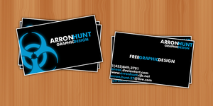 ArronHunt - Business Cards by AreoX