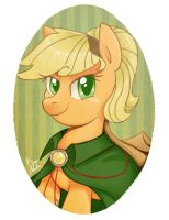 Portraits: Applejack by Radioactive-K