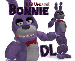 MMD Bonnie FNAF [DL] by roze11san