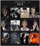 2016 Summary Of Art by Fatalvow