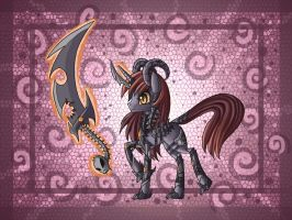 Sinthela demon pony by raptor007