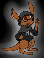 The Space Monk is a Roo by VedtheFlameDevil