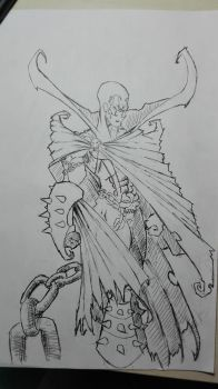 Spawn (inking) by thelost544