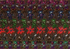 Magic Eye Teddy by elneo