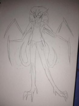 What i look like as a demon by bethanygamemaster