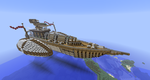 Steampunk Battleship by nac345
