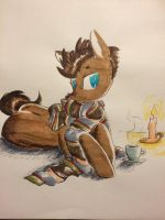 Tea Break by NicoTheMintyRabbit