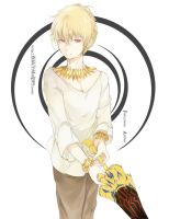 Fate/zero Archer:Gilgamesh 2 by jeren07