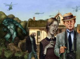 Kolchak Monsters Among Us by wjh3