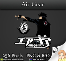 Air Gear - Anime Folder Icon by lSiNl