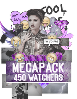 +Megapack 450 watchers by YourCrazyNightmare