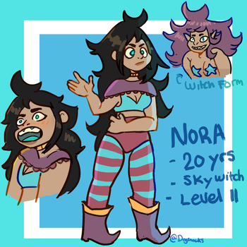 Nora ref by Dogsnacks