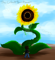 The Giant Sunflower by SilverRiku