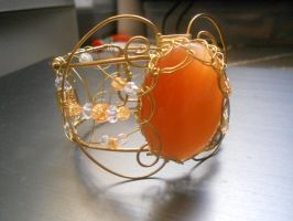 Cats eye Bangle by TheriaRose