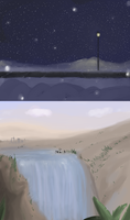 Landscapes idk by Super-Cute