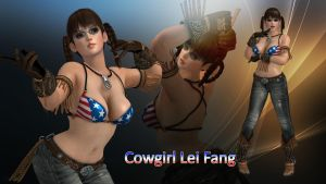 Cowgirl Lei Fang by DragonLord720
