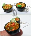 Polymer Clay Ramen Bowls by Talty
