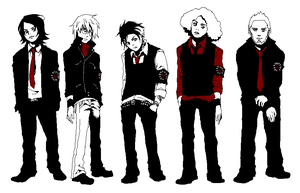 MCR Pixels by KodanWolf