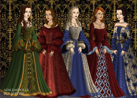 My favourite Shakespeare characters by SingerofIceandFire