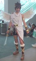Kid Icarus from Icarus uprising! at Anime Expo 201 by trivto