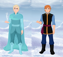 Frozen Brothers by missyalissy