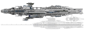 Centurion Battlecruiser by ClefJ