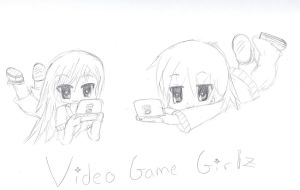 Gamer Girlz by ghostgirl1245
