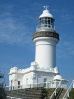 Lighthouse at Byron Bay by alanhay