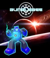 Bumblebee Blue Lantern by Optimus77463