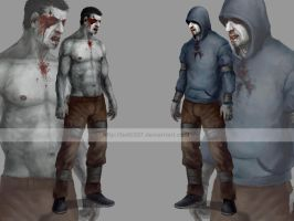 Left 4 dead- Hunter by betti357