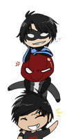 DC Chibi Tower by The-Chibster