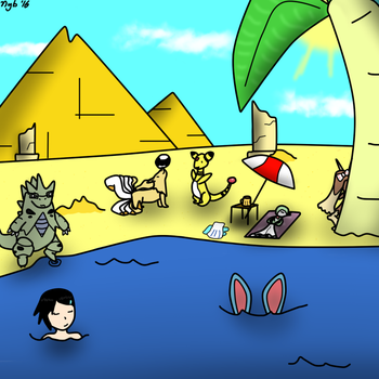 A dive in the Oasis by Nyberim