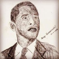 Barack Obama by renzkb24