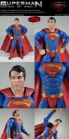 Custom Superman Man of Steel w/ Heat Vision Blast! by MintConditionStudios