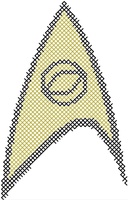 Star Trek Science Insignia Pattern by rhaben