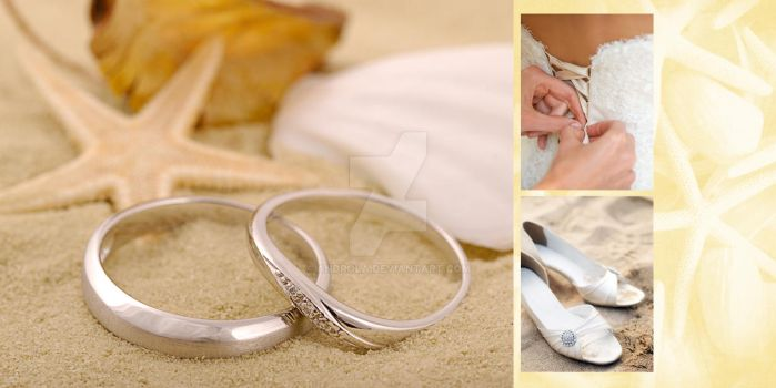 Beach Wedding Square 1 by Androla