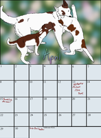 April Calender by Hollow-Heaven