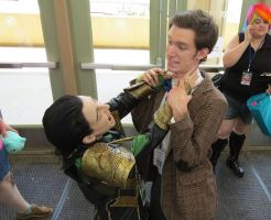 Loki and 11th Doctor 2 by JaneReaction