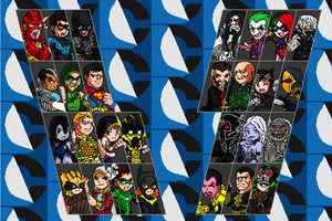 Injustice Gods Among Us Fighter Select Pixel Style by jc013