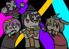 ((OOC)) PARTY HARD ANIMATED! by Ask-CronaMakenshi
