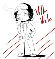 HIM - Ville Valo by Milo-Minamino