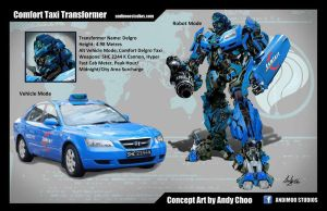 Comfort Taxi Transformer by AndiMoo