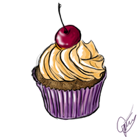 Cupcake by flannery123