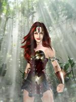 Wonder Woman the Red Head by bolloboy