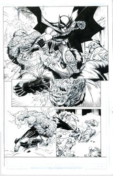 Greg Cupullo's pencils,inks by me by antgarcia