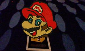 AR Games - Mario drawing by LevelInfinitum
